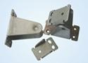 Metal clamp assembling parts